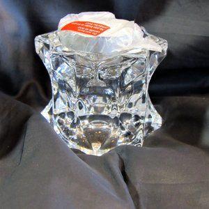 Mikasa Crystal Candle Holder Votive Tea Light